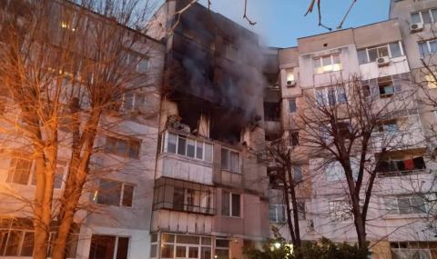 Силен взрив разтърси варненски квартал