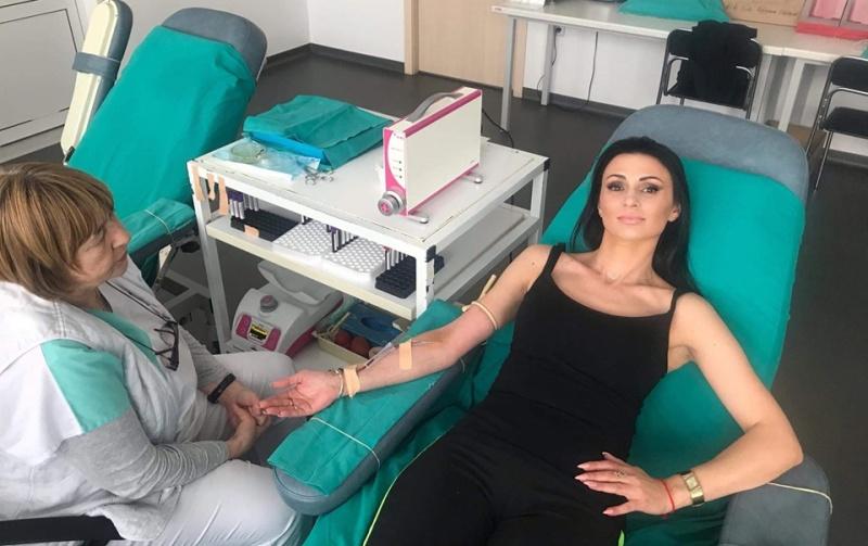 Мисис Бургас 2018 спази обещанието си – вече е редовен кръводарител