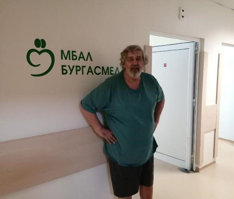Стефан Данаилов е добре и вече ходи