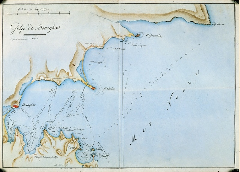 200-годишни карти, дневници на пътешественици и дипломати показват на Пристанище Бургас