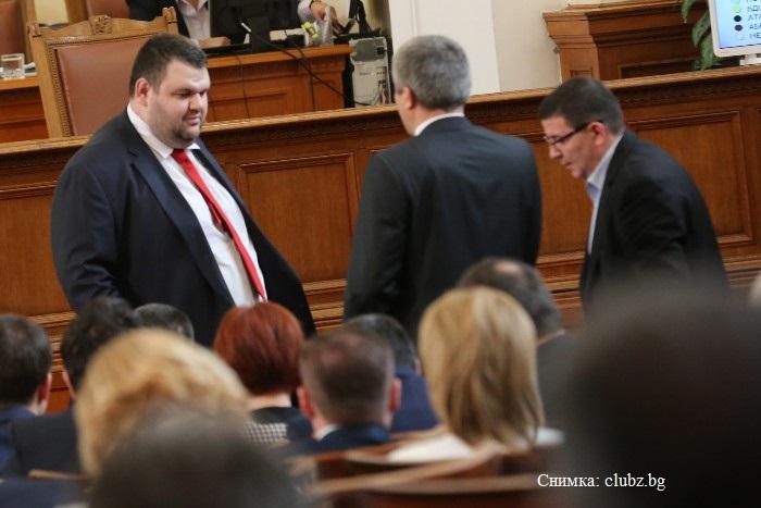 Делян Пеевски втори в евролистата на ДПС
