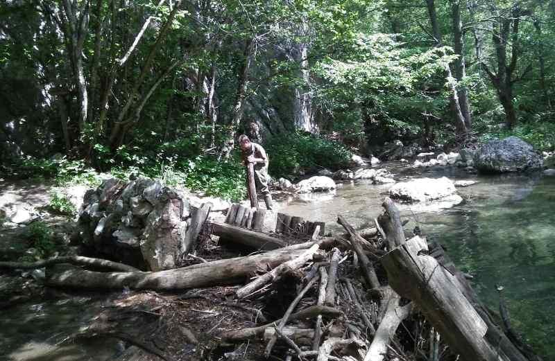 Възстановиха разрушени мостове в парк Странджа