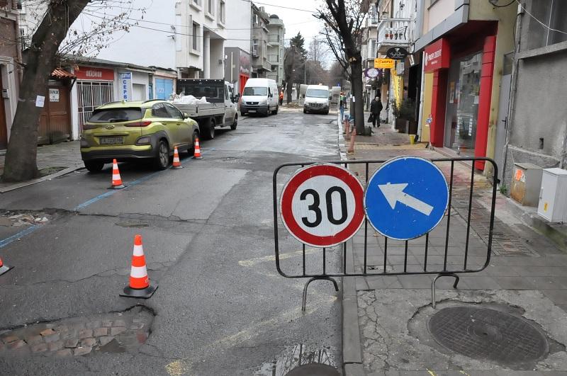 """Започва мащабен ремонт на улица """"Александър Велики"""""""