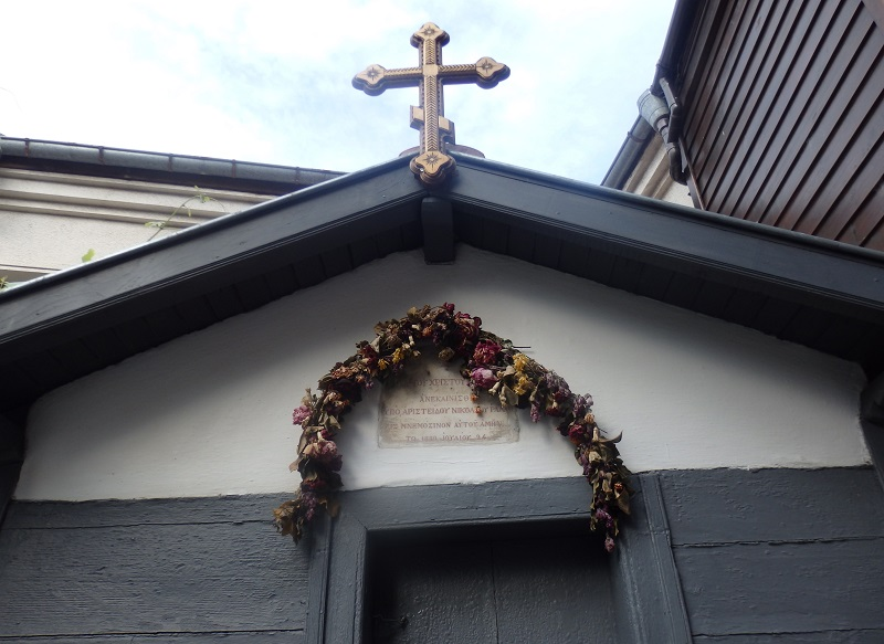 Созополският параклис, в който са xодили завърналите се моряци