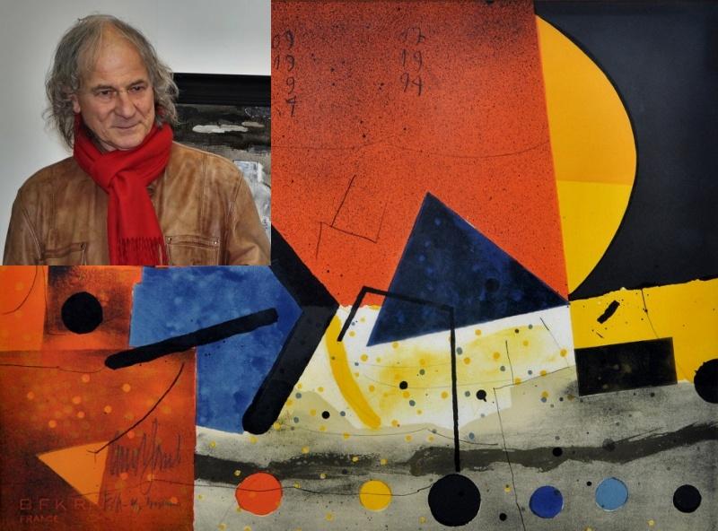 Редят два етажа картини на Стоян Цанев в Синагогата