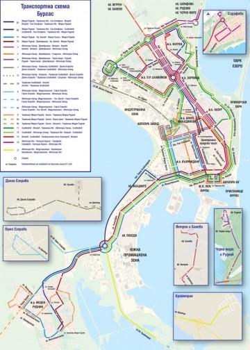 Новата транспортна схема влиза в сила от 26 ноември