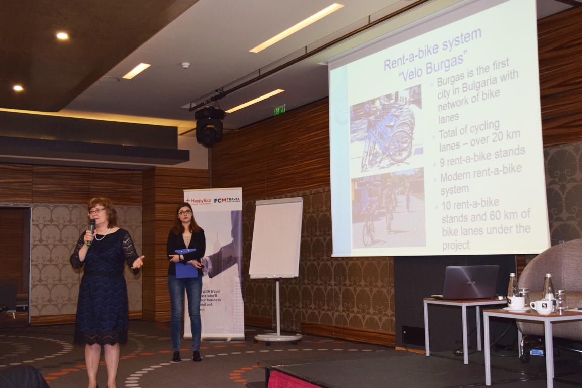 Разказват за Бургас на румънските туроператори