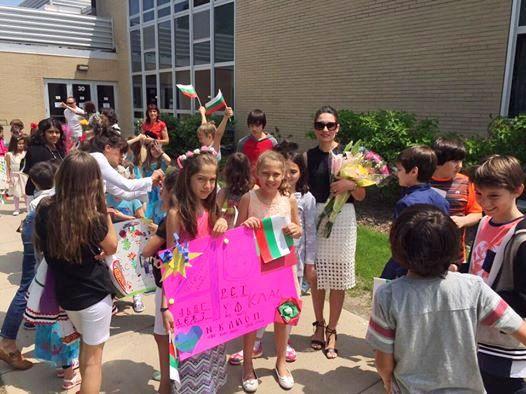 Догодина посрещаме учениците от Бургаското училище в Чикаго