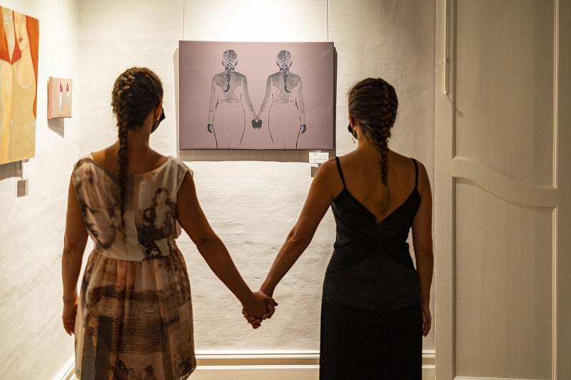 Две сестри от Бургас с обща изложба в Малта