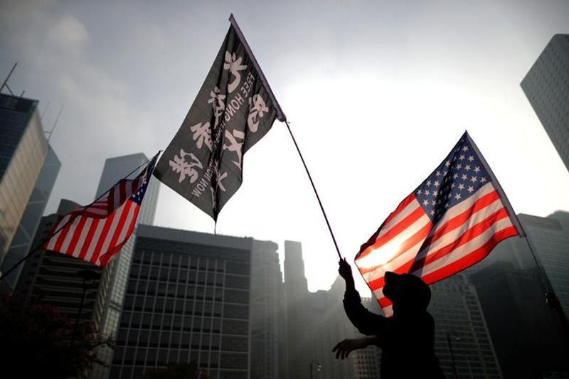 Държавният секретар на САЩ шантажирал изпълнителната власт в Хонконг