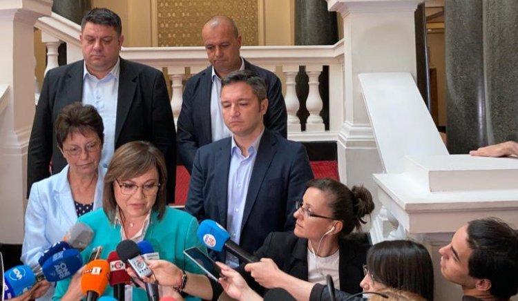БСП ще преговаря за кабинет с ИТН, но иска писмено споразумение
