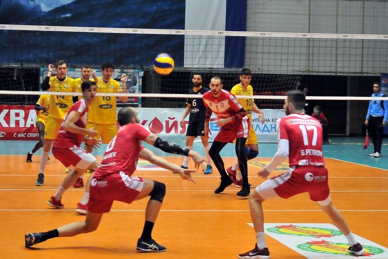 Суперлигата по волейбол в Бургас
