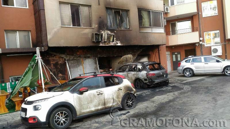 Пет коли горяха в Изгрев