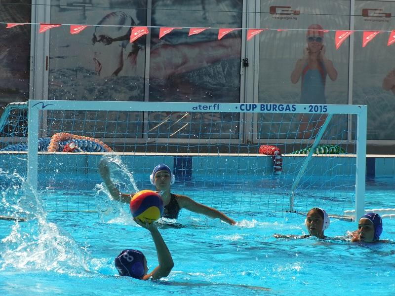 Бургас приема шампионата по водна топка за жени
