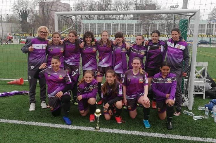 Бургаският женски футболен отбор завоюва престижа купа в Пловдив