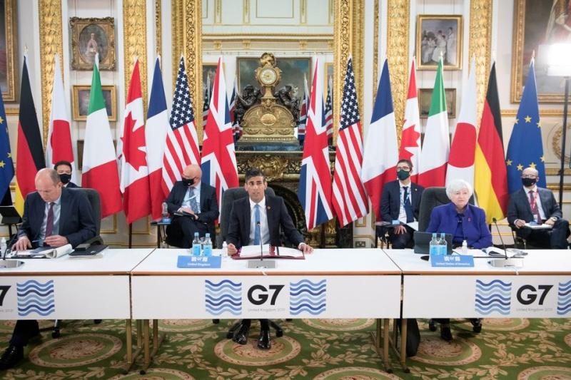 Г-7 договориха световен корпоративен данък от поне 15 процента