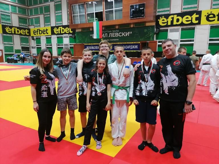 Отлично представяне на състезателите от СК Джудо-Бургас