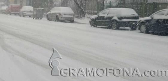 Сняг покри части от Европа