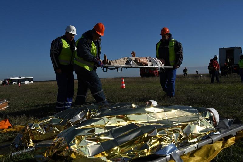Екипите на летище Бургас показаха как се действа при екстремна ситуация