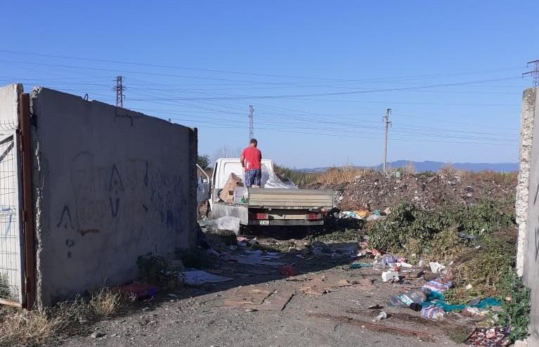 Кой продължава да пали нерегламентираното сметище край Сунгурларе?