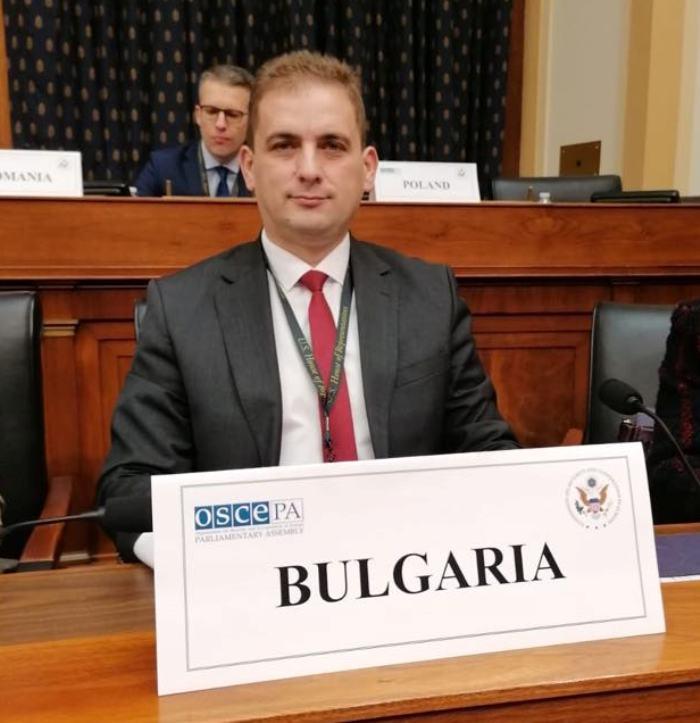 Бургаският депутат Севим Али участва в семинар във Вашингтон