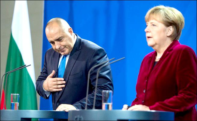 """Краят на ерата """"Борисов"""". Шутът на Меркел"""