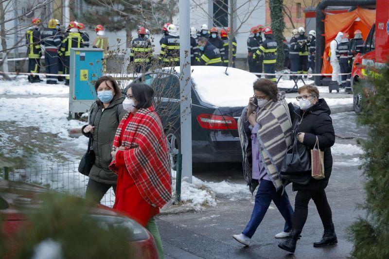 Пет жертви при пожар в ковид отделение в Румъния