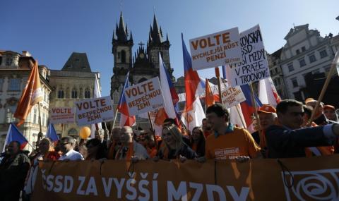 Чехия провежда парламентарни избори