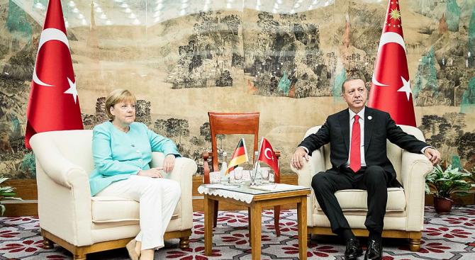 Ангела Меркел е оптимист след срещата си с Ердоган