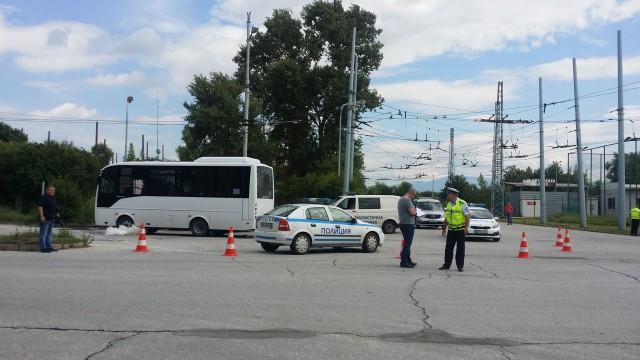 Автобус от градския транспорт в Пловдив блъсна и уби възрастна жена