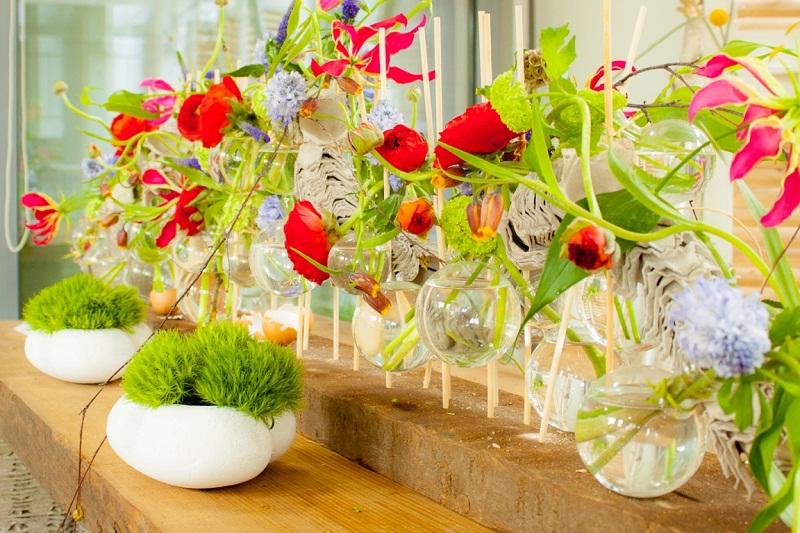 Грънчарство, бонсай и хиляди цветя на Флора Бургас 2017