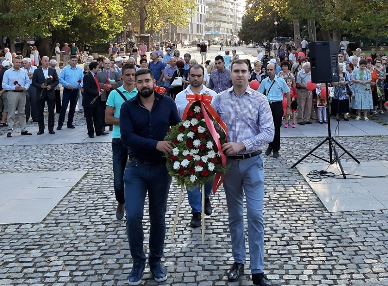 Бургаски социалисти почетоха 9-ти септември