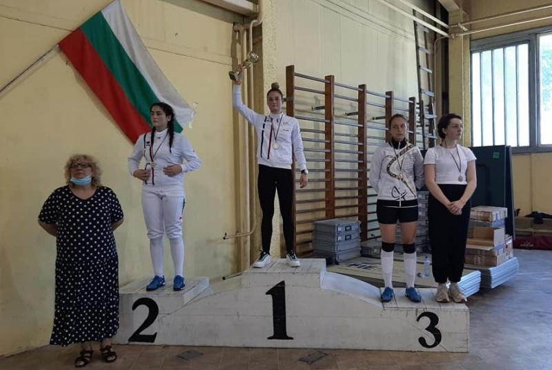 Бургаските корсари се представиха отлично на държавното първенство