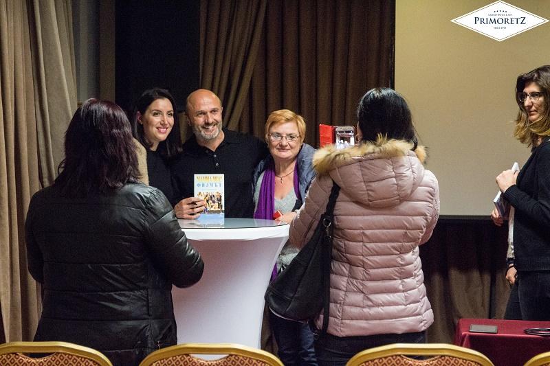 Георги Тошев представи свои книга и филм за АББА в Бургас