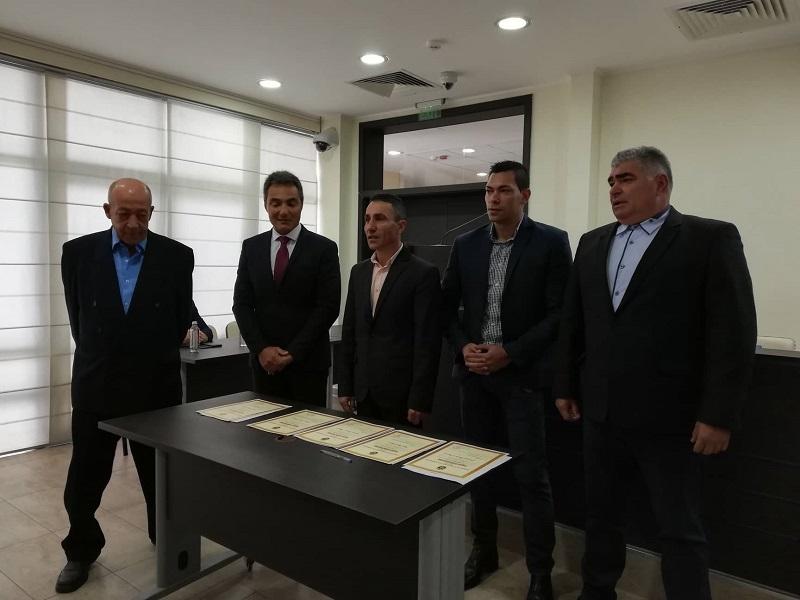 Съветниците Ненчев и Начев се заклеха тази сутрин