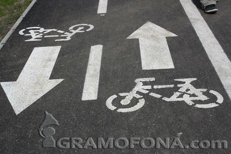 До колоездачите с любов…