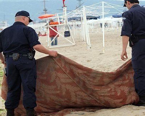Труп на латвиец извадиха от морето в Слънчев бряг