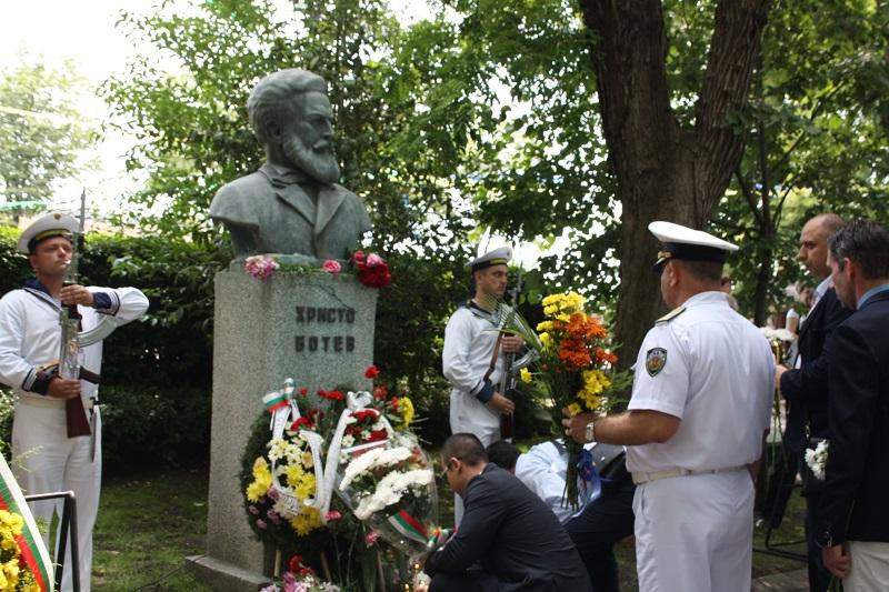 Почитаме паметта на Христо Ботев