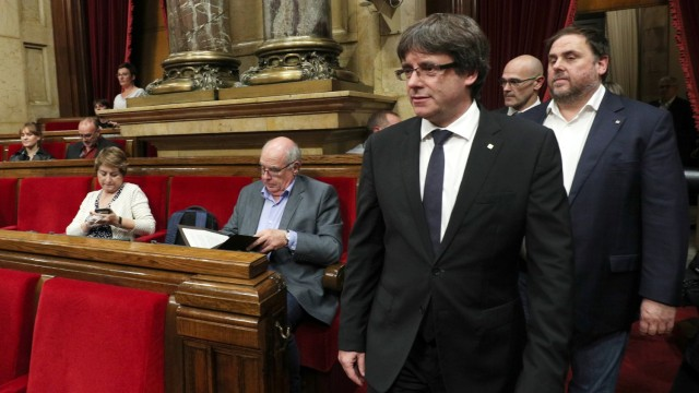 Отложиха независимостта на Каталуния