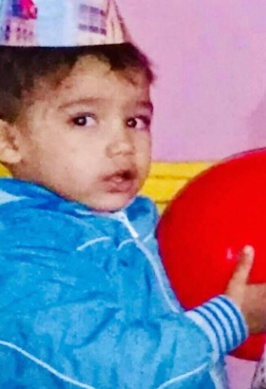 Ето го 2-годишния Юлиян, който вчера изчезна в Равнец