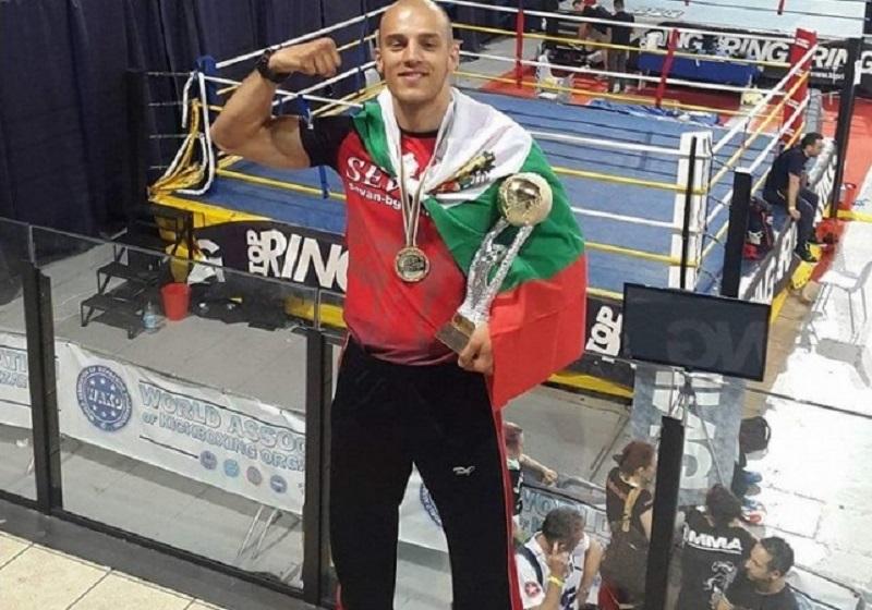 Бургаски кикбоксьор спечели световната купа в стил К- 1