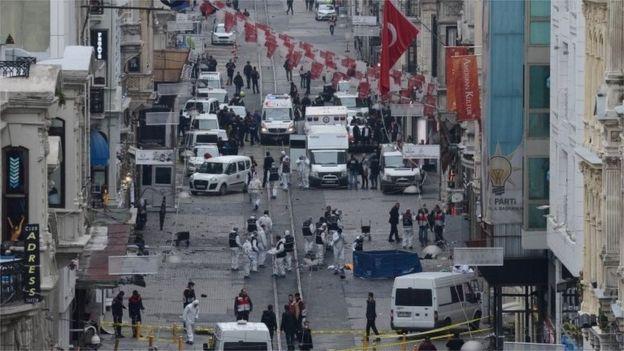 Нов самоубийствен атентат в Истанбул
