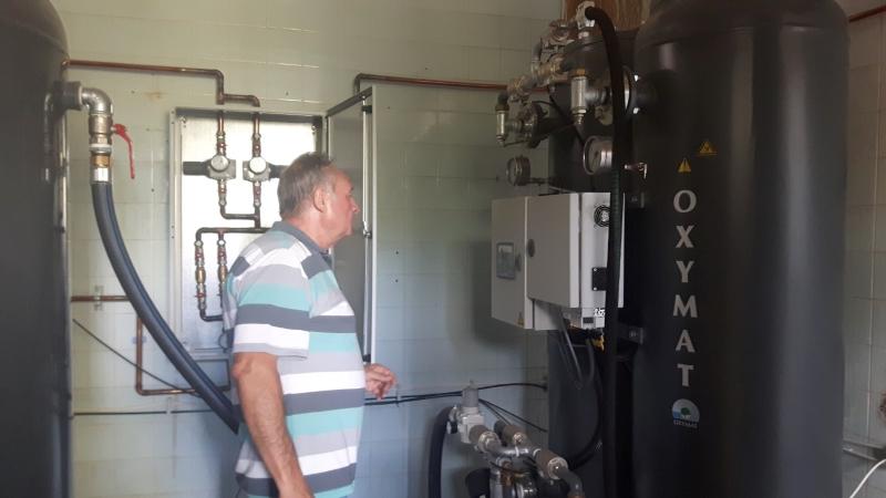 Бургаска болница вече сама си произвежда кислород