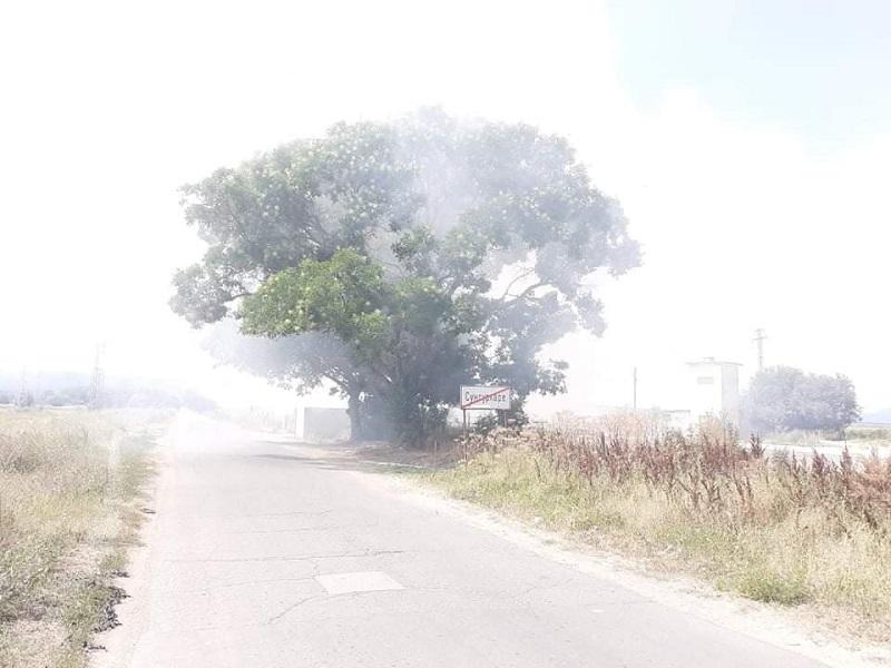 Нерегламентирано сметище гори всяка нощ и трови жителите на Сунгурларе