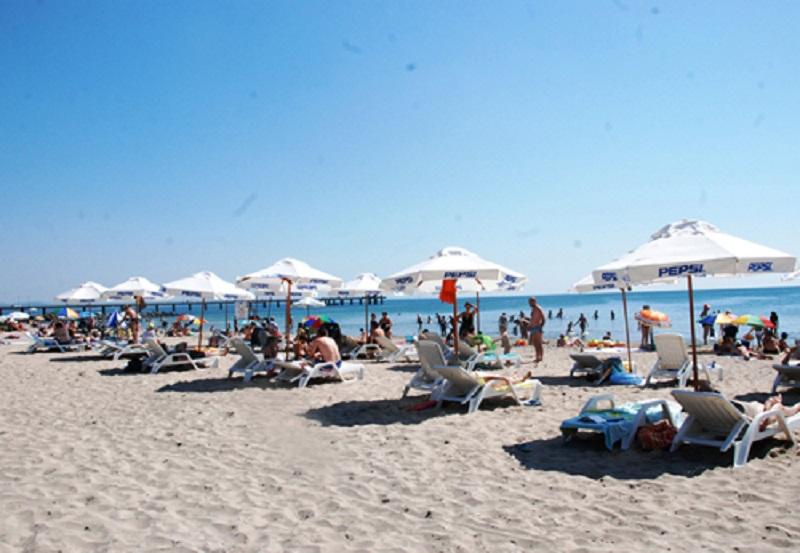 Стягат Южния плаж в Слънчев бряг