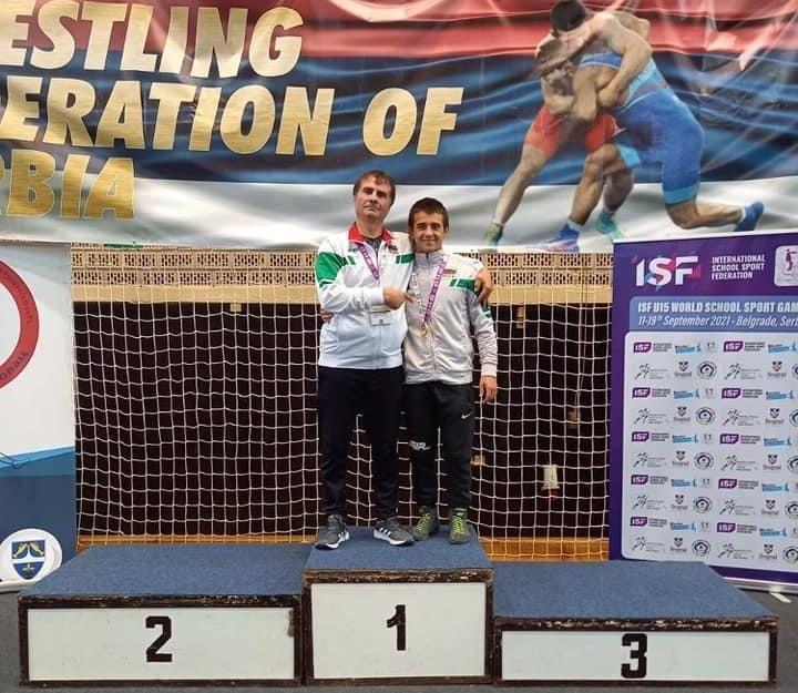 Шампионът Ердал Галип е заминал в последния момент за световните игри в Белград