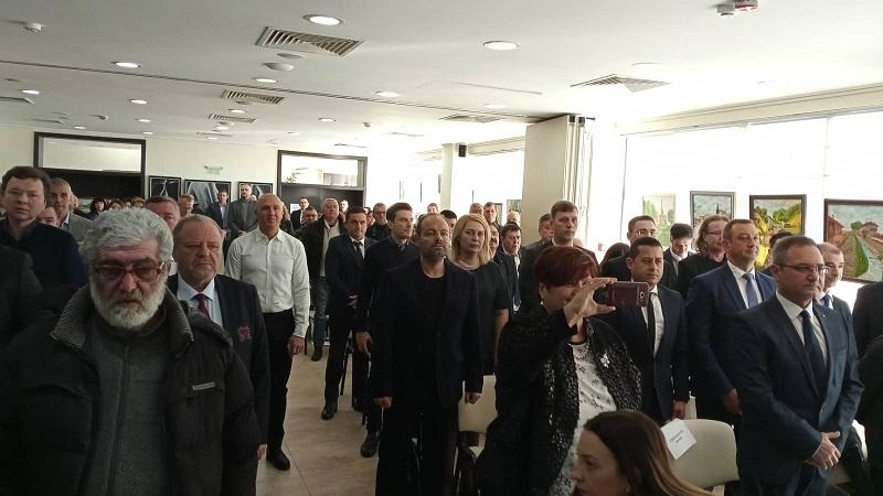 Бургаските политици почетоха Стоянка Мутафова