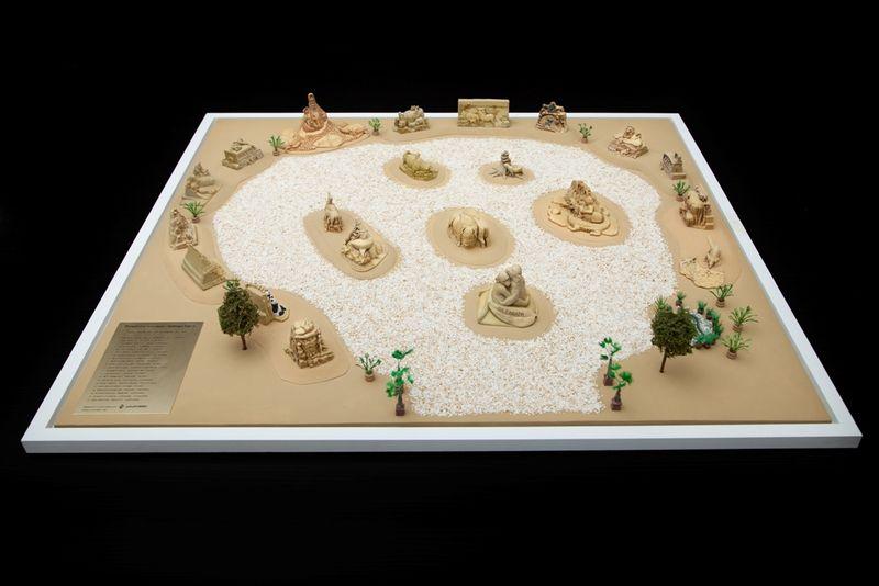 Показват 3D фигури на миналогодишните пясъчни скулптури