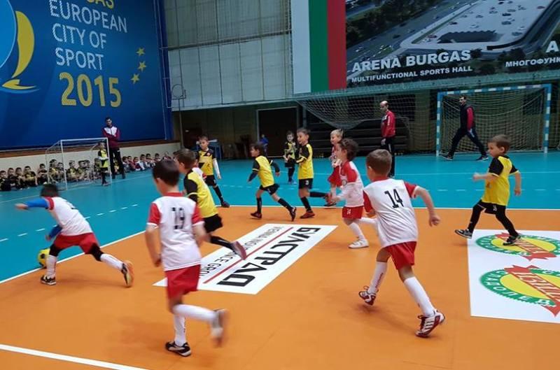 Футболните звездички на Бургас излъчват големия шампион