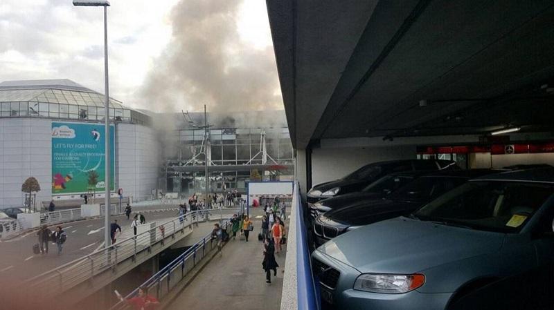Взрив на летището в Брюксел, има ранени